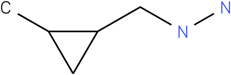 1-[(2-methylcyclopropyl)methyl]hydrazine