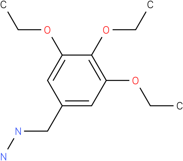 1-[(3,4,5-triethoxyphenyl)methyl]hydrazine