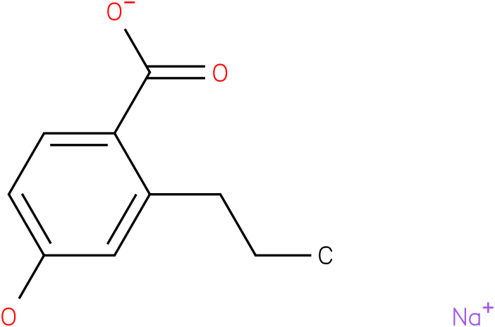 Sodium propyl p-hydroxybenzoate