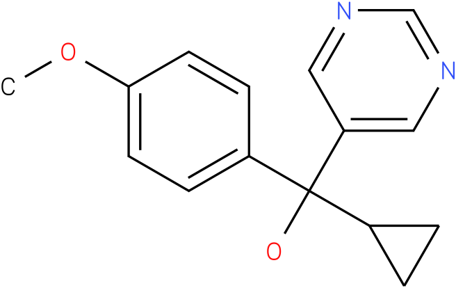 Ancymidol;α-Cyclopropyl-α-(4-methoxyphenyl)-5-pyrimidinemethanol