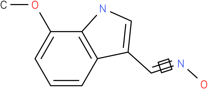 7-METHOXY-1H-INDOLE-3-CARBOXALDEHYDE OXIME