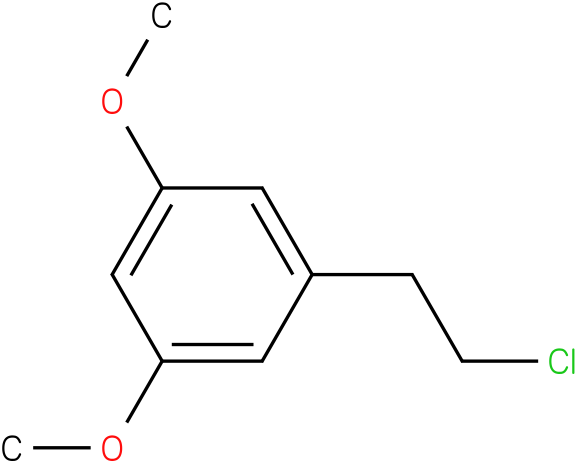 1-(2-chloroethyl)-3,5-dimethoxybenzene