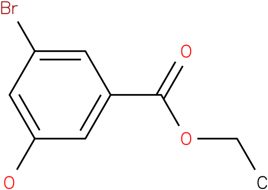 Benzoic acid,3-bromo-5-hydroxy-,ethyl ester