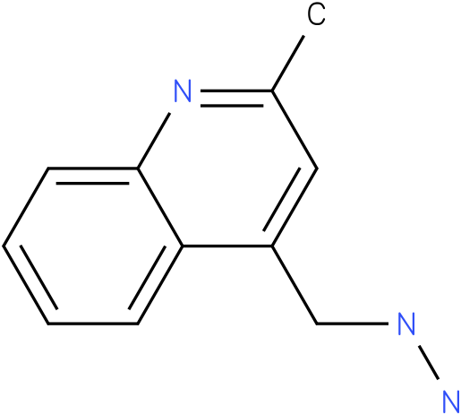 4-(hydrazinomethyl)-2-methylquinoline