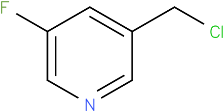 3-(CHLOROMETHYL)-5-FLUOROPYRIDINE