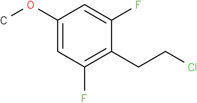 2-(2-chloroethyl)-1,3-difluoro-5-methoxybenzene