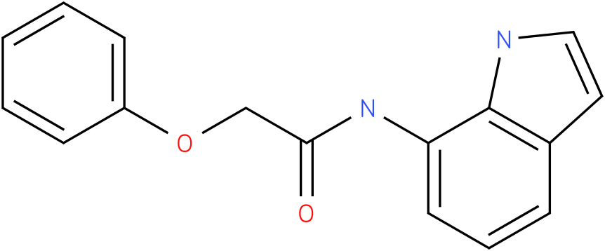 N-(1H-indol-7-yl)-2-phenoxyacetamide