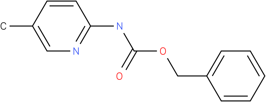 Carbamic acid,(5-methyl-2-pyridinyl)-,phenylmethyl ester