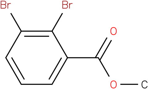 2,3-DIBROMO-BENZOIC ACID METHYL ESTER