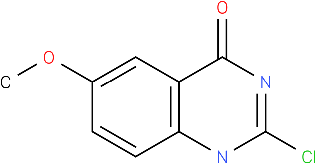 2-chloro-6-methoxyquinazolin-4(3H)-one