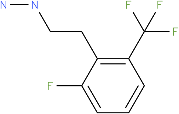 1-(2-fluoro-6-(trifluoromethyl)phenethyl)hydrazine