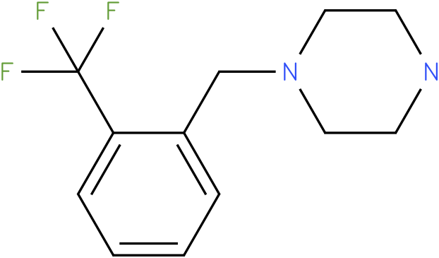 1-[[2-(TRIFLUOROMETHYL)PHENYL]METHYL]-PIPERAZINE