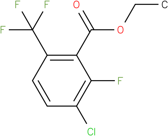 ethyl 3-chloro-2-fluoro-6-(trifluoromethyl)benzoate