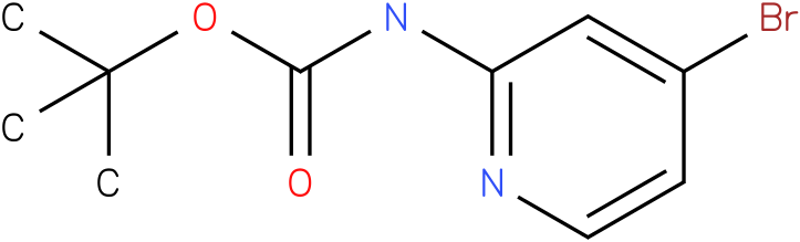 Carbamic acid,N-(4-bromo-2-pyridinyl)-,1,1-dimethylethyl ester