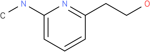 2-PYRIDINEETHANOL,6-(METHYLAMINO)-