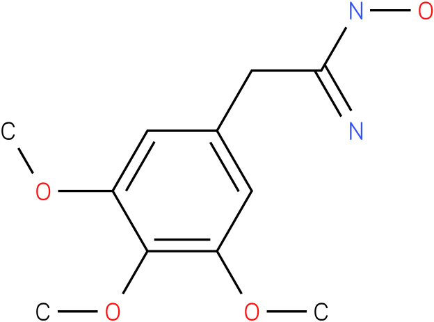 BENZENEETHANIMIDAMIDE,N-HYDROXY-3,4,5-TRIMETHOXY