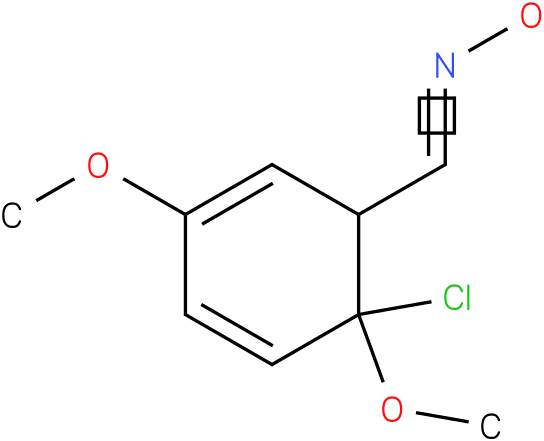 2,5-DIMETHOXY-2-CHLOROBENZALDOXIME
