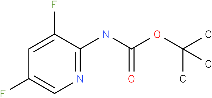 Carbamic acid,N-(3,5-difluoro-2-pyridinyl)-,1,1-dimethylethyl ester.