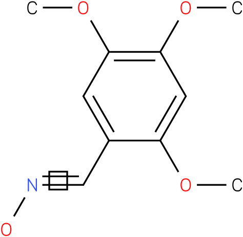 2,4,5-TRIMETHOXYBENZALDEHYDE OXIME