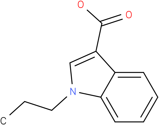 1H-INDOLE-3-CARBOXYLIC ACID,1-PROPYL-