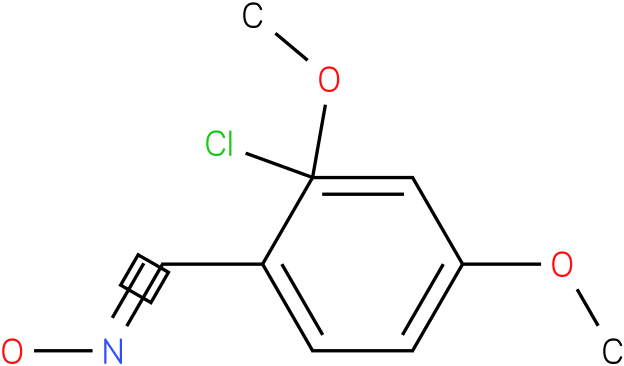 2,4-DIMETHOXY-2-CHLOROBENZALDOXIME