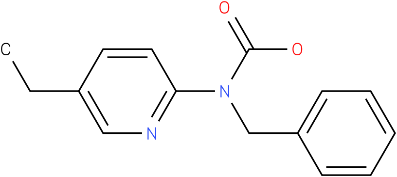 Carbamic acid,(5-ethyl-2-pyridinyl)-,phenylmethyl ester (9Cl)