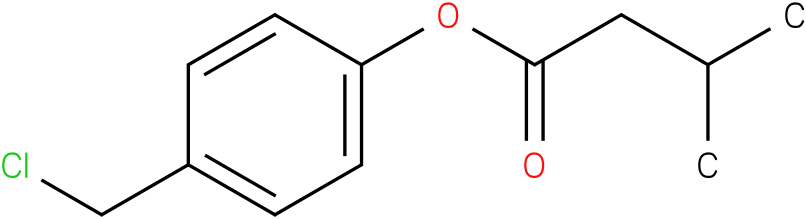 4-(Chloromethyl)phenyl 3-methylbutanoate