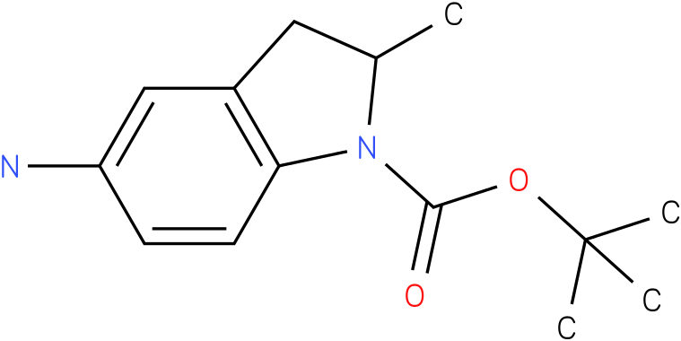 TERT-BUTYL 5-AMINO-2-METHYLINDOLINE-1-CARBOXYLATE