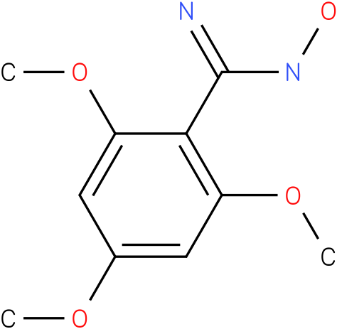 N-HYDROXY-2,4,6-TRIMETHOXY-BENZAMIDINE