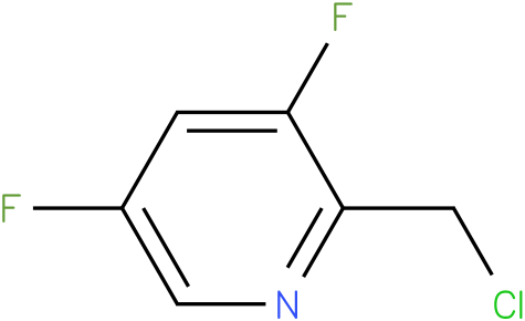 2-(chloromethyl)-3,5-difluoropyridine