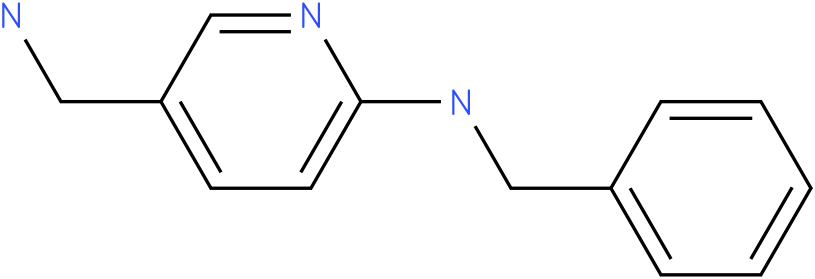 3-PYRIDINEMETHANAMINE,6-[(PHENYLMETHYL)AMINO]-