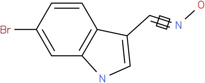 6-BROMO-1H-INDOLE-3-CARBOXALDEHYDE OXIME