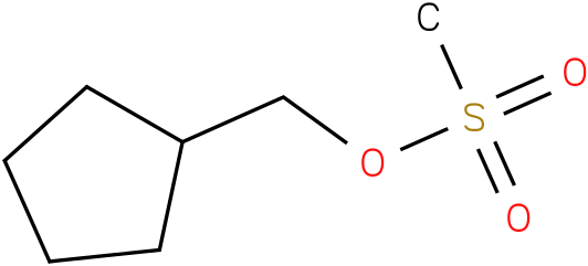 Cyclopentanemethanol,1-methansulfonate