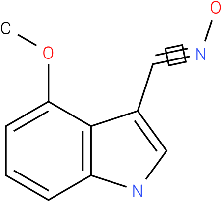 4-METHOXY-1H-INDOLE-3-CARBOXALDEHYDE OXIME