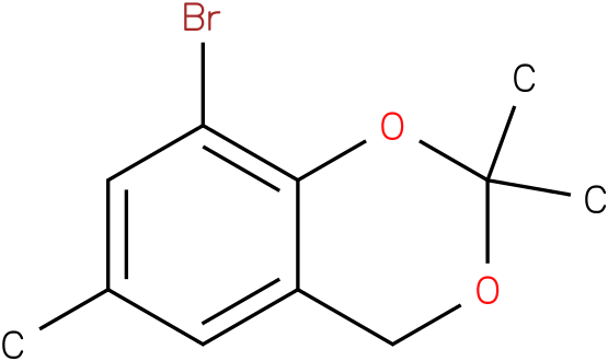 4H-1,3-BENZODIOXIN,8-BROMO-2,2,6-TRIMETHYL-