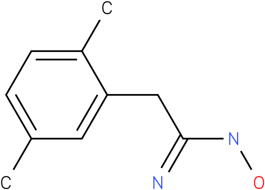 BENZENEETHANIMIDAMIDE,N-HYDROXY-2,5-DIMETHYL-
