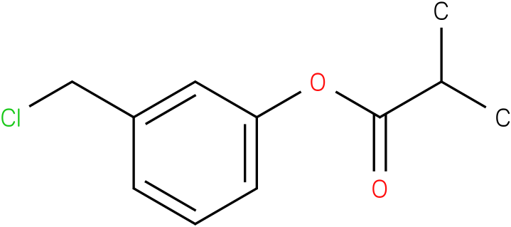 3-(Chloromethyl)phenyl isobutyrate