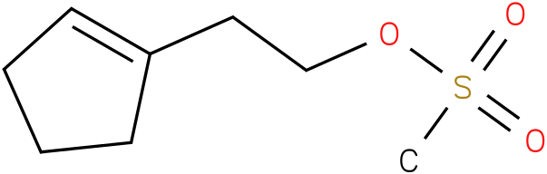 Cyclopenteneethanol,1-methansulfonate