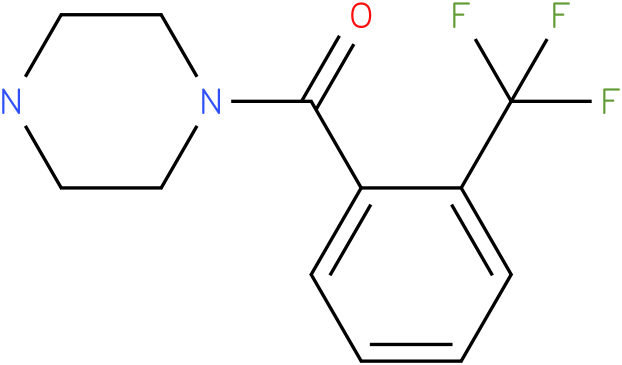 1-([2-(TRIFLUOROMETHYL)PHENYL]CARBONYL)PIPERAZINE