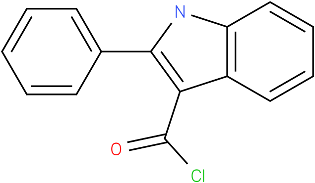 1H-INDOLE-3-CARBONYL CHLORIDE,2-PHENYL-