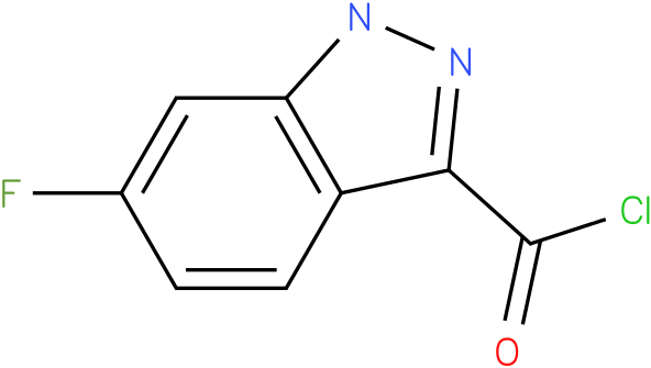 6-FLUORO-1H-INDAZOLE-3-CARBONYL CHLORIDE