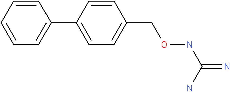 GUANIDINE,((1,1'-BIPHENYL)-4-YLMETHYLOXY)-