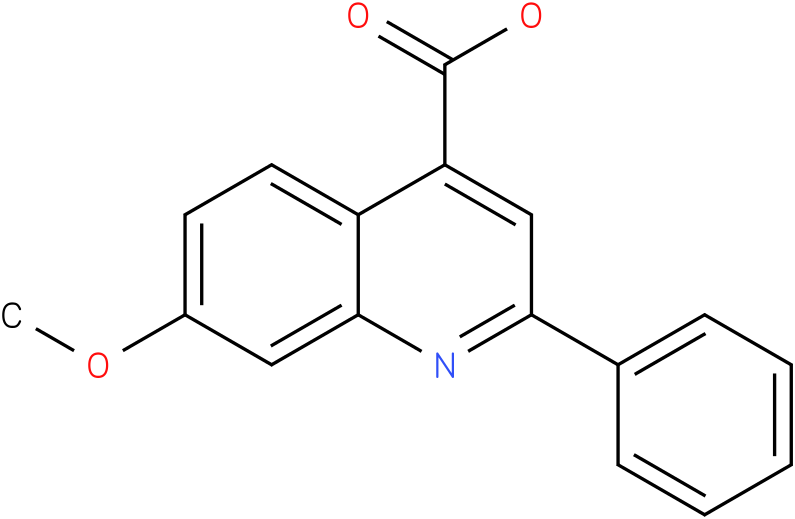 4-QUINOLINECARBOXYLIC ACID,7-METHOXY-2-PHENYL-