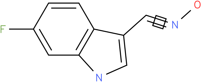 6-FLUORO-1H-INDOLE-3-CARBOXALDEHYDE OXIME