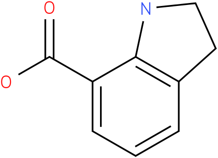 1H-INDOLE-7-CARBOXYLIC ACID,2,3-DIHYDRO-