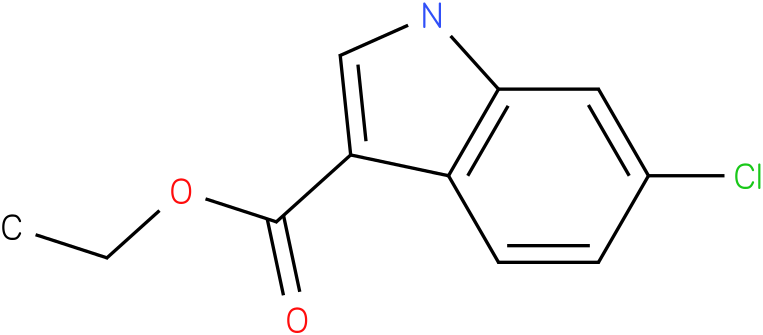 1H-INDOLE-3-CARBOXYLIC ACID,6-CHLORO-,ETHYL ESTER
