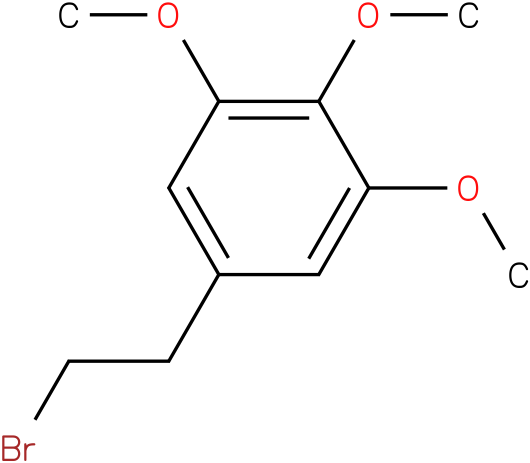 5-(2-bromoethyl)-1,2,3-trimethoxybenzene