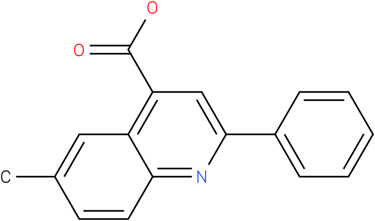 4-QUINOLINECARBOXYLIC ACID,6-METHYL-2-PHENYL-