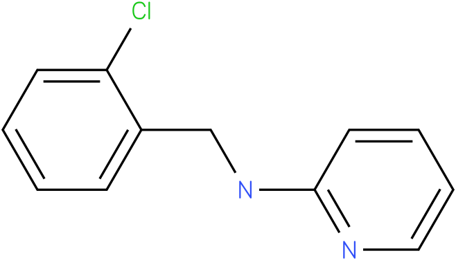 2-Pyridinamine,N-[(2-chlorophenyl)methyl]-