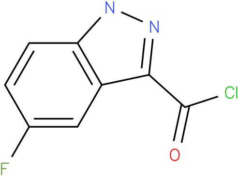 5-FLUORO-1H-INDAZOLE-3-CARBONYL CHLORIDE
